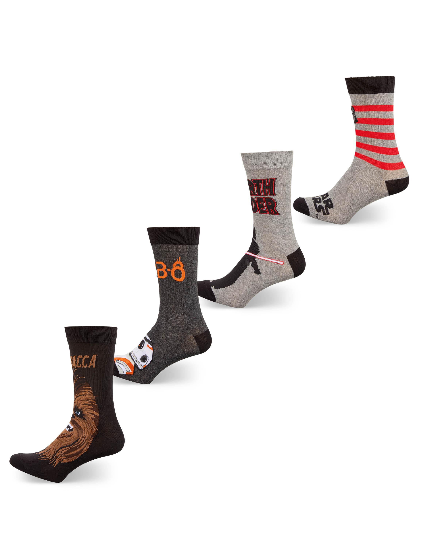 Men's Star Wars Socks 4 Pack