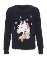 Kids' Premium Unicorn Jumper