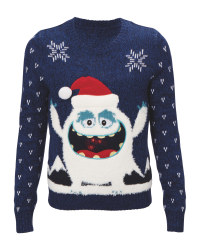 Kids' Yeti Light-Up Xmas Jumper
