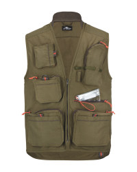Crane Green Fishing Gilet