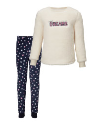 Kids' Sweet Dreams Fleece Pyjamas