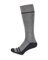 Crane Grey Wader Fishing Socks