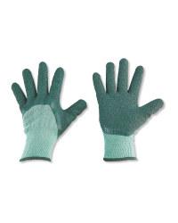 Green Medium Gardening Gloves