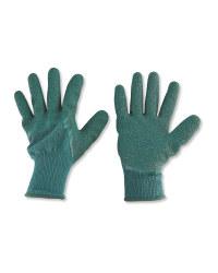 Dark Green XL Gardening Gloves