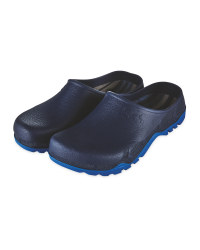 Gardenline Navy/Blue Garden Clogs