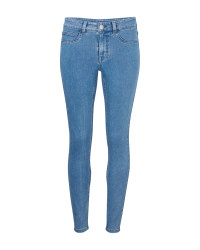 Avenue Ladies' Blue Jeggings