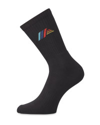 Aldi Mania Logo Black Socks
