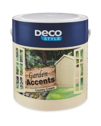 Country Cream Garden Accents Paint