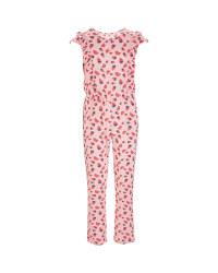 Children's Pink Jumpsuit