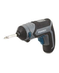 Ferrex 4-In-1 Cordless Screwdriver