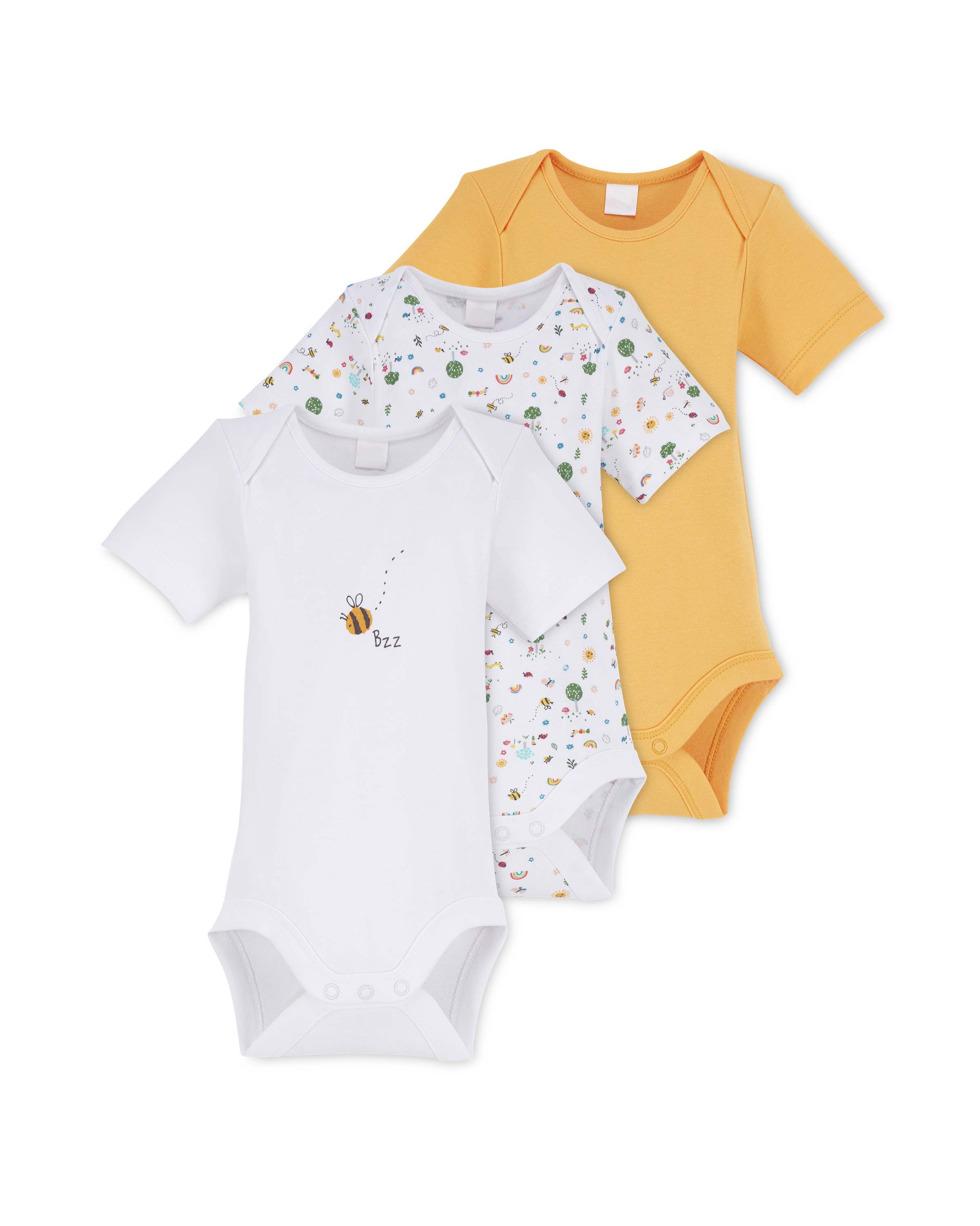 Forest Baby Bodysuit 3 Pack