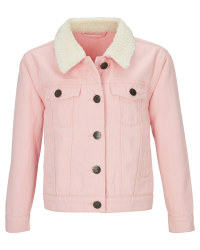 Avenue Children's Pink Denim Jacket