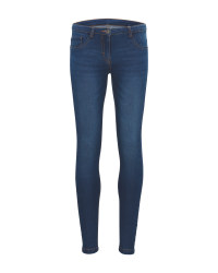 Children's Blue Denim Jeggings