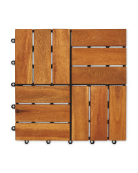 Two Direction Wooden Decking Tiles