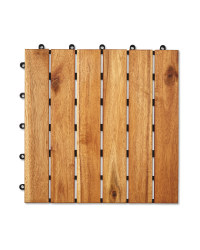 One Direction Wooden Decking Tiles