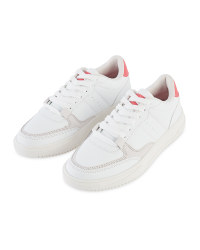 Avenue Ladies' White Chunky Trainers