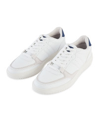 Avenue Men's White Chunky Trainers
