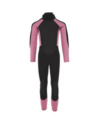 Grey & Pink Childrens' Full Wetsuit