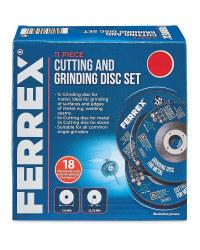 Cutting & Grinding Disc 11 Piece Set