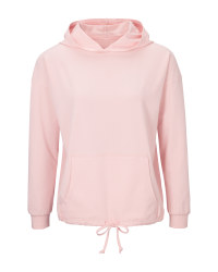 Avenue Ladies' Pink Hoodie