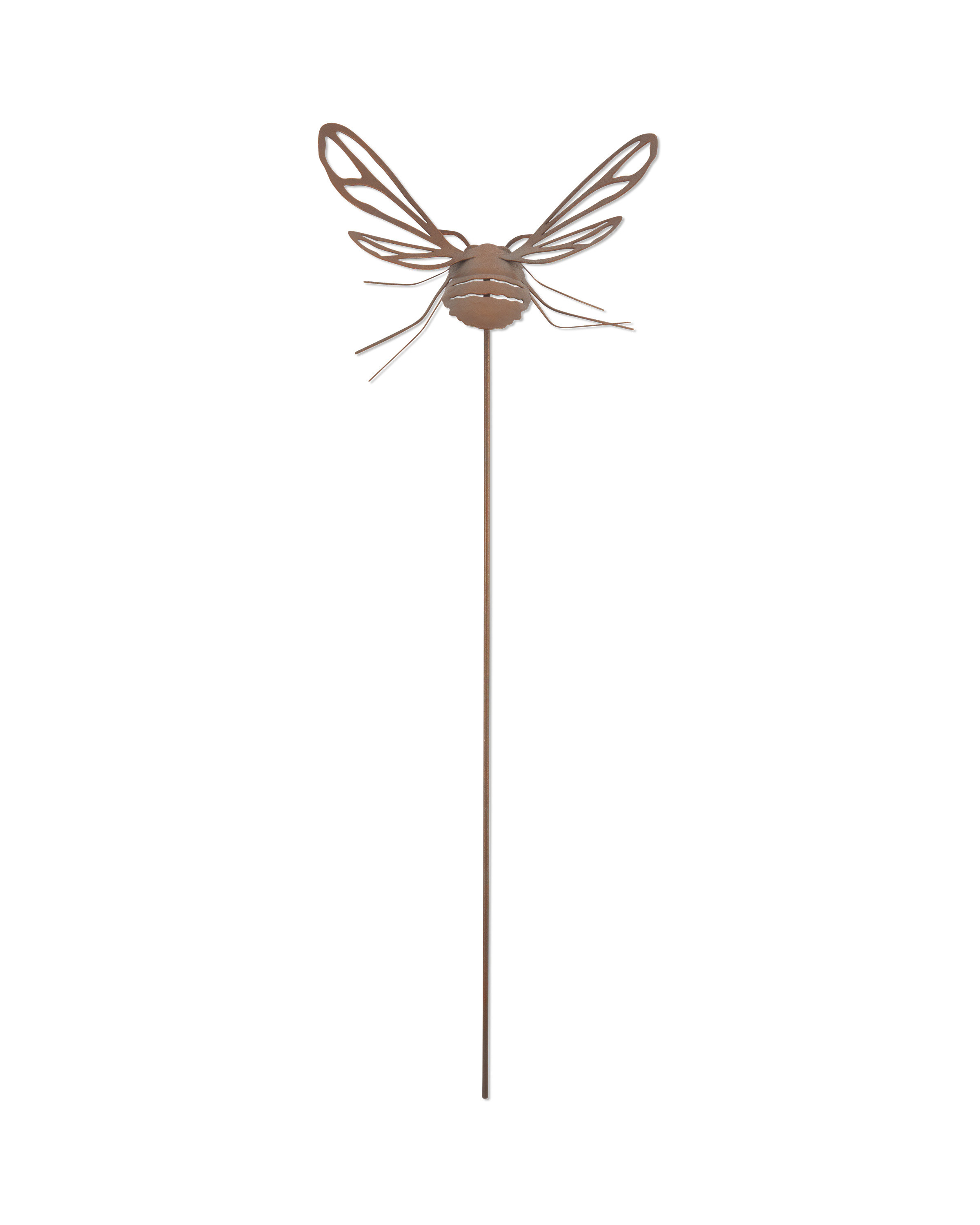 Brown Bee Garden Stake