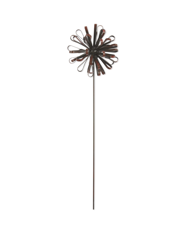Brown Dandelion Garden Stake