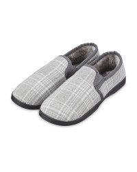 Avenue Men's Grey Slippers