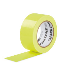Workzone Neon Yellow Adhesive Tape