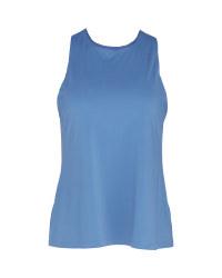 Ladies' Blue Performance Top