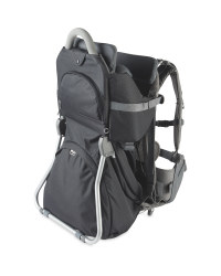 Black Hiking Baby Carrier