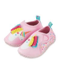 Infant Unicorn Aqua Shoes