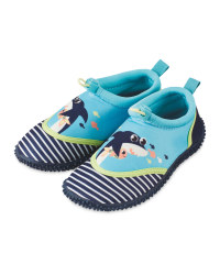 Infant Shark Aqua Shoes