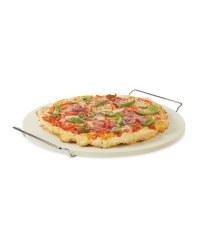 Gardenline Pizza Stone With Handles