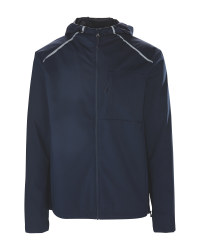 Men's Dark Blue Commuter Jacket