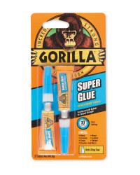 Gorilla Super Glue 2 Pack