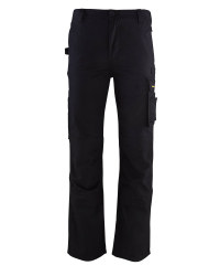 "Black Workwear Trousers 31"" Leg"