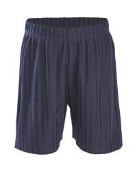 Children's Navy Football Shorts