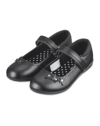 Girl's Matte Leather Shoes
