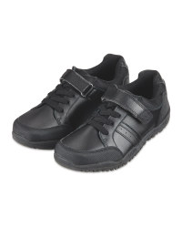 Boy's Laced Leather Shoes