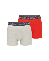 Aldi Mania Red & Grey Hipsters