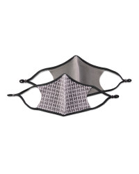 Crane Anthracite Face Coverings