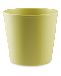 Gardenline 12cm Ceramic Pot - Green