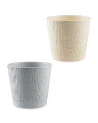 Gardenline 12cm Dots Ceramic Pot