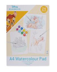 A4 Bambi Watercolour Pad