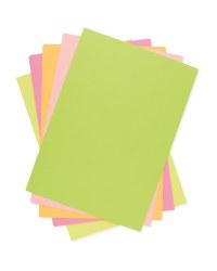 A4 Colour Paper Pack Neon