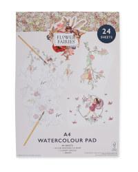 A4 Flower Fairies Watercolour Pad