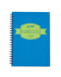 A4 Hardback Notebook - Blue