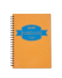 A4 Hardback Notebook - Orange