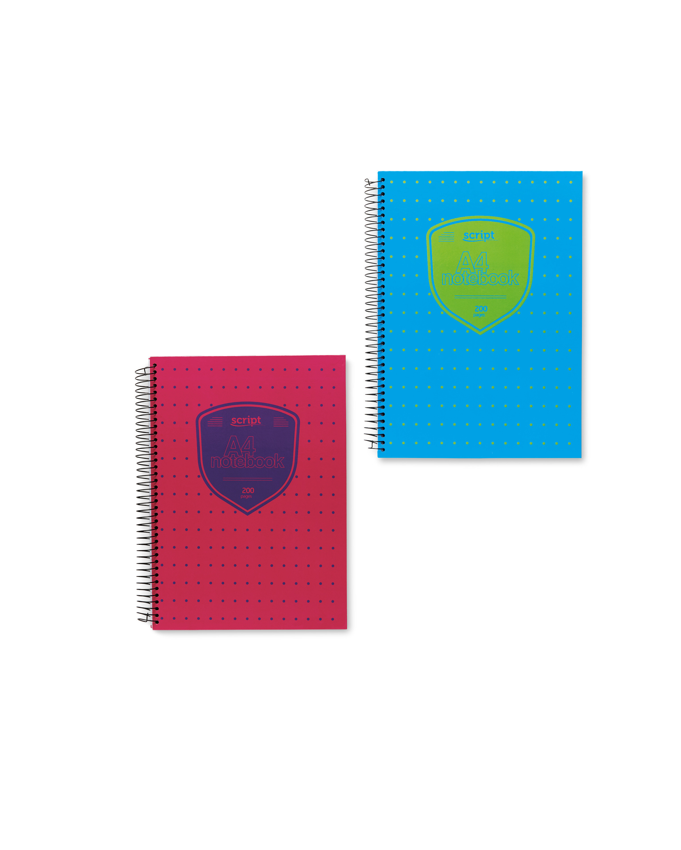 Script A4 Notebook