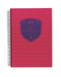 Script A4 Notebook - Pink